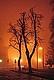 Една мъглива и студена зимна вечер около пл. Александър Невски