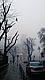Една мъглива и студена зимна сутрин около пл. Александър Невски
